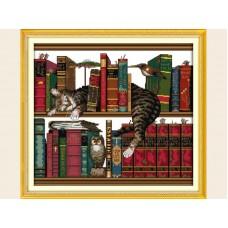 """Набор для вышивания крестиком """"Библиотекарь"""" D555"""