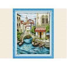 """Набор для вышивания крестиком """"Венецианские мостики"""" F239"""