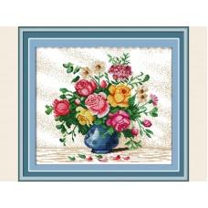 """Набор для вышивания крестиком """"Букет цветов"""" H147"""