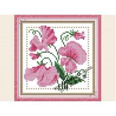 """Набор для вышивания крестиком """"Детские цветочек - апрель"""" H426"""