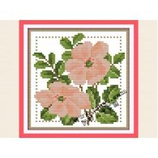 """Набор для вышивания крестиком """"Детские цветочек - июнь"""" H428"""