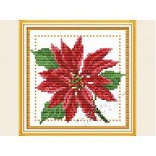 """Набор для вышивания крестиком """"Детские цветочек - декабрь"""" H434"""