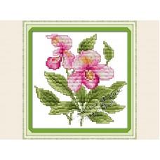 """Набор для вышивания крестиком """"Детские красивый цветочек"""" H455"""