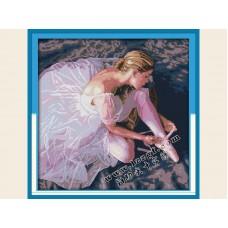"""Набор для вышивания крестиком """"Балерина"""" R480"""
