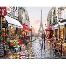 "Алмазная мозаика ""Улочки Парижа"" C12"