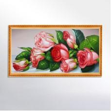 "Алмазная мозаика ""Букет роз"" F35"