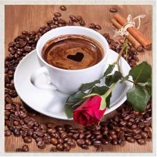 """Алмазная мозаика """"Ароматное кофе"""" G15"""